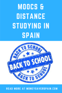 Distance Studying in Spain
