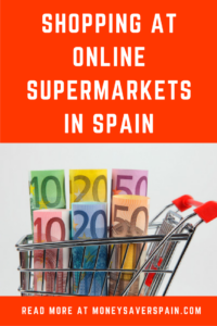 Online Supermarkets in Spain | Money Saver Spain