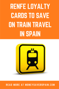Travel by Train in Spain